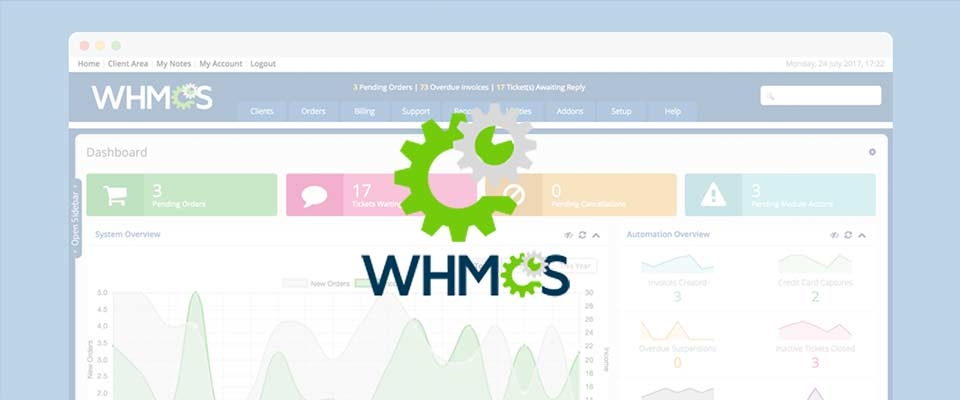 WHMCS Customization
