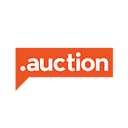 AUCTION Domain Logo