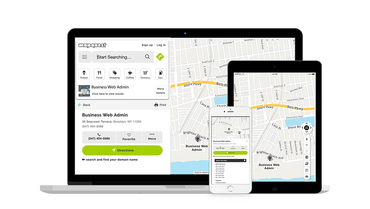 MapQuest Local Business Listings