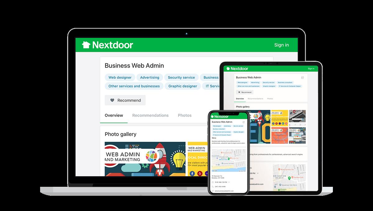 Nextdoor Local Business Listings