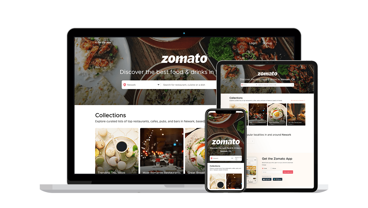 Zomato Local Business Listings