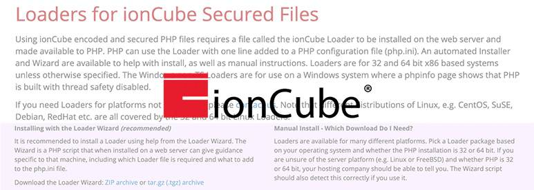 Install and Enable Ioncube Loader WHM